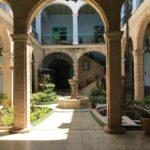 Hostal Las Brigidinas patio